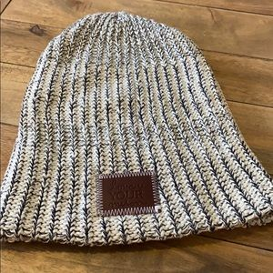 Love Your Melon Black Speckled Beanie